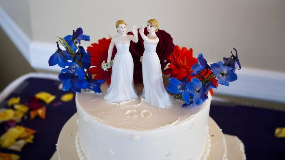 Kalifornien Backerei Darf Sich Weigern Hochzeitskuchen Fur