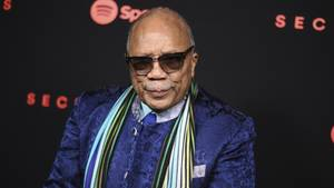 Quincy Jones beim Secret Genius Awards in Los Angeles am 01. November 2017
