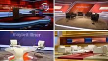 Talkshow-Studios von ARD und ZDF
