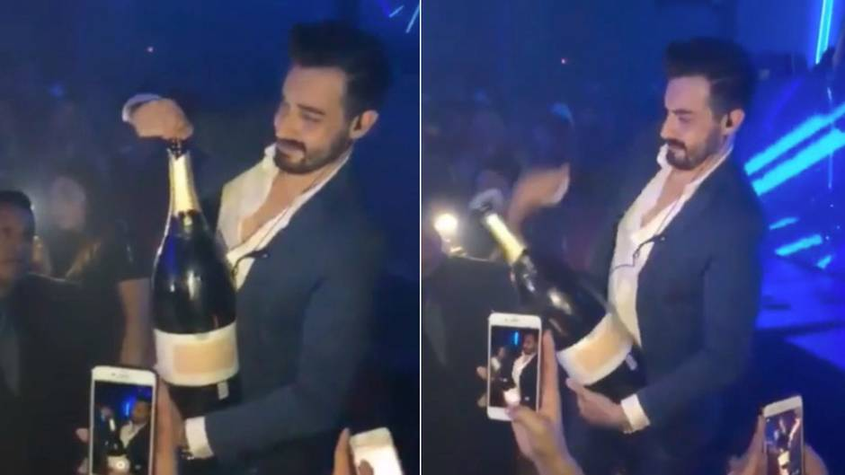 Lachnummer auf Ibiza: Angeber lässt 30.000 Euro teuren Champagner fallen