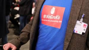 Großer Unmut über die GroKo - auch darüber sind sich Union und SPD einig