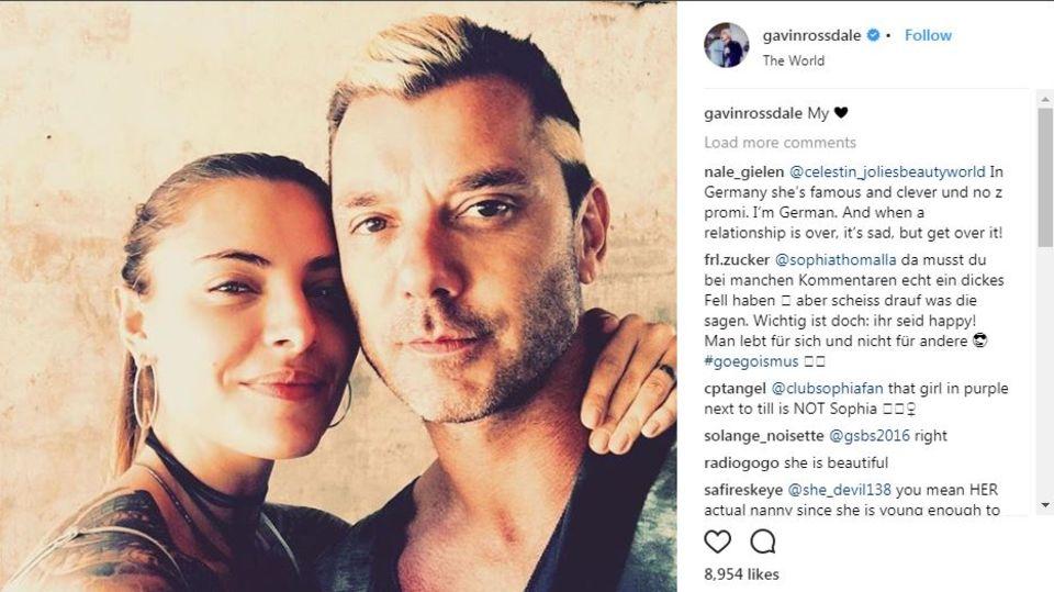Sophia Thomalla und Gavin Rossdale