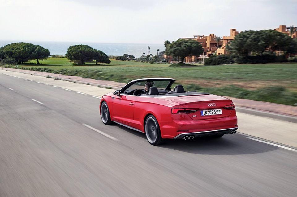 Audi S5 Cabriolet - über 1,9 Tonnen schwer