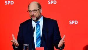SPD-Chef Martin Schulz will doch nicht in die Regierung eintreten