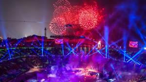 Olympische Winterspiele Südkorea Eröffnungsfeier