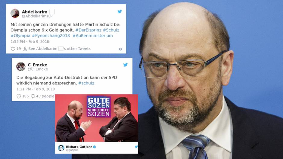 """Twitter-Reaktionen: """"Gute Sozen, schlechte Sozen"""" - so hämisch reagiert das Netz auf den Schulz-Verzicht"""