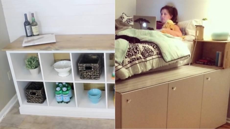 Ikea-Upcycling : So werden aus Standardmöbeln individuelle Hingucker