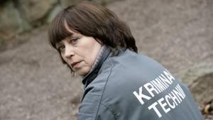 """Marie Gruber in ihrer Rolle als Kriminaltechnikerin Rosamunde Weigand im """"Polizeiruf 110"""""""