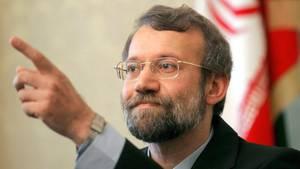 "Irans Parlamentspräsident Ali Laridschani bezeichnet Donald Trump als ""geistig behindert"""