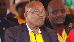 Südafrikas Präsident Jacob Zuma