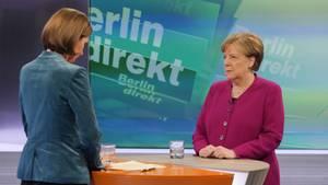"""""""Schmerzhaft"""", aber """"akzeptabel"""": So rechtfertigt Angela Merkel den Verlust des Finanzministeriums"""