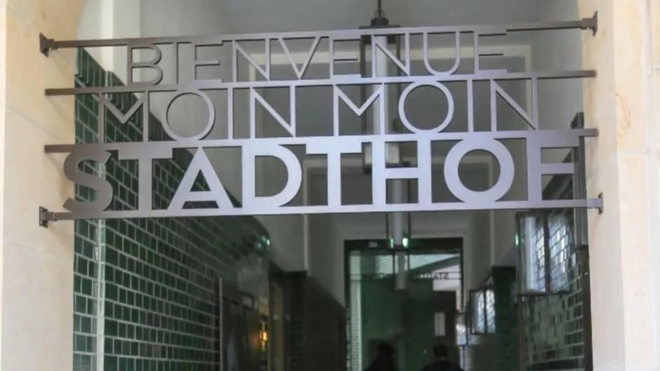 Hamburger Stadthöfe: Dieses Schild muss weichen, weil es an die NS-Ideologie erinnert