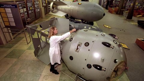 Sarow Atombombe