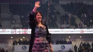 Pervin Buldan, die neue Vorsitzende der pro-kurdischen Oppositionspartei HDP