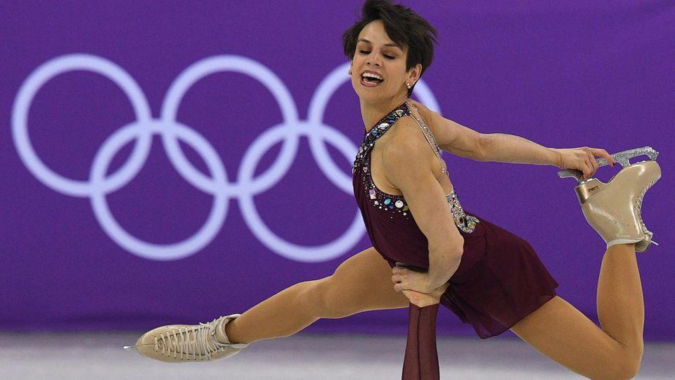 Eiskunstläuferin Meagan Duhamel bei Olympia - Kanadierin rettete Hund vor dem Kochtopf