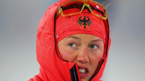 Laura Dahlmeier im Olympia-Dress - Kälte, Schwächeanfall und Gold-Erwartungen