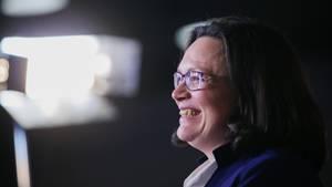 SPD-Fraktionschefin Andrea Nahles hat schon länger Kanzlerformat - doch sie wurde immer wieder ausgebremst