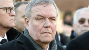 Unzufrieden mit Angela Merkels Verhandlungen und der Lage in der CDU: Ex-Generalsekretär und Verteidigungsminister Volker Rühe