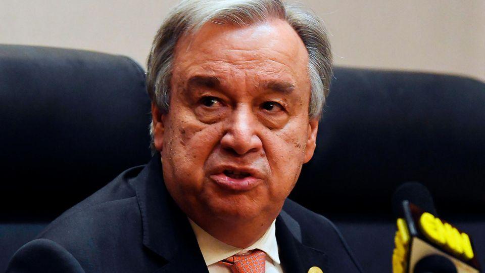 """Antonio Guterres: """"Wir müssen mehr Wege für legale Migration auch nach Europa öffnen"""""""