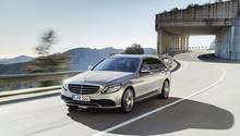 Mercedes C-Klasse 2018 - die Optik ist nahezu unverändert