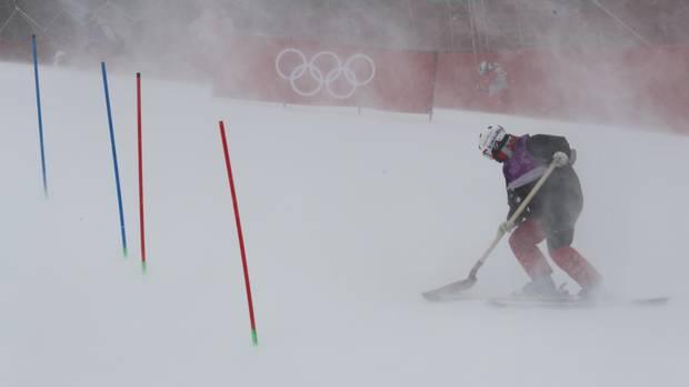 olampia kompakt - slalom absage