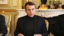 Frankreichs Präsident Emmanuel Macron
