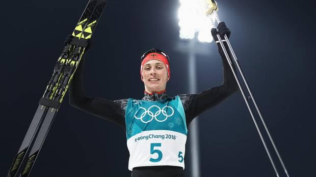 Gold-Jubel nach durchwachsener Saison: Kombinierer Eric Frenzel siegt bei Olympia 2018 in Pyeongchang