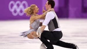 Olympia Aljona Savchenko und Bruno Massot
