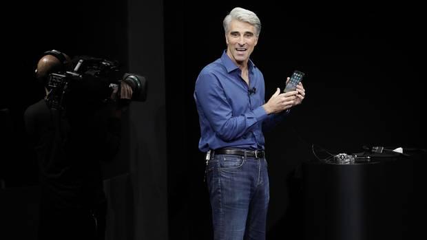 Craig Federighi ist für die Qualität der Software bei Apple zuständig.