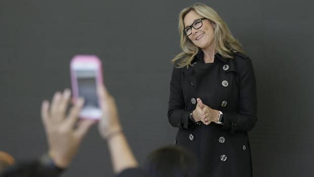 Angela Ahrendts ist Apples Chefin für die Retail-Sparte