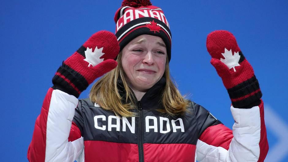Freudentränen über Bronze bei Olympia 2018 - Shorttrackerin Kim Boutin erhält danach Morddrohungen