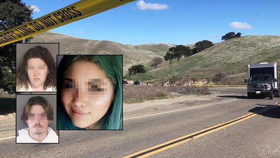 An dieser Straße in Kalifornien wurde die junge Frau gefunden