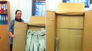 Amazon - Bestellung - Gürtel - Paket