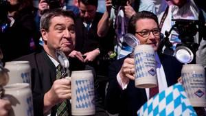 Politischer Aschermittwoch: Söder-Show und SPD-Wirren