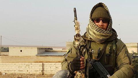 """Christian Haller hat zwei Mal mit den Kurden in Syrien gekämpft: """"Ich wünschte, ich wäre gerade in Afrin."""""""