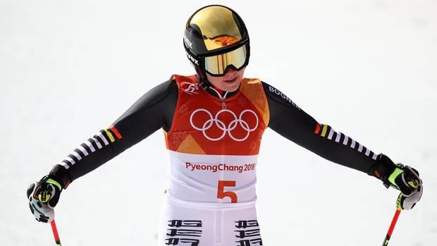Viktoria Rebensburg verpasst als Vierte die erhoffte Medaille im Riesenslalom