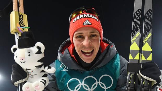 Kombinations-Olympiasieger Eric Frenzel freut sich über deutsche Medaillenflut bei Olympia 2018