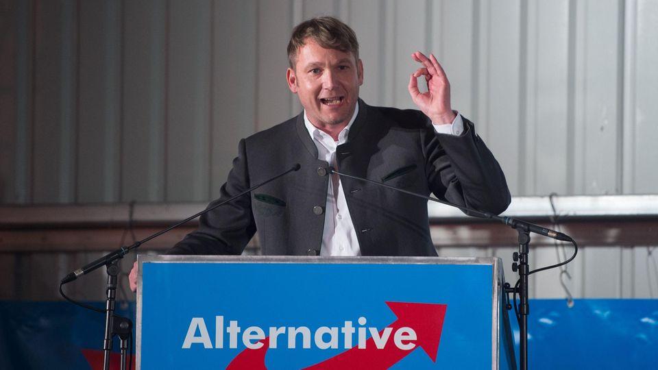 André Poggenburg, Vorsitzender der AfD in Sachsen-Anhalt