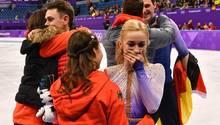 Aljona Savchenko und Bruno Massot holen Gold