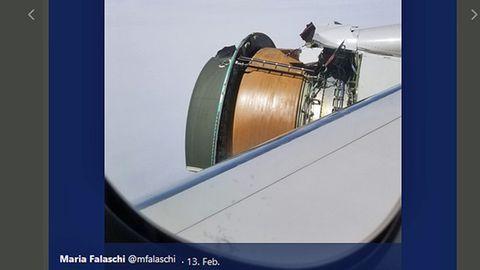 Auf dem Flug von San Francisco nach Hawaii hat eine Boeing 777-200 von United Teile des rechten Triebwerks verloren.