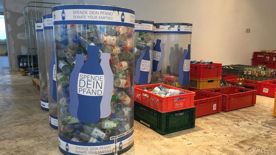 """Die Aktion """"Spende dein Pfand"""" wurde 2015 in Hamburg gegründet."""