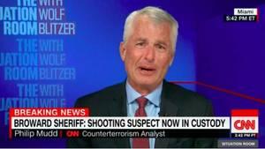 Ex-FBI-Agent und Terrorexperte Philip Mudd im Interview mit dem US-Nachrichtensender CNN