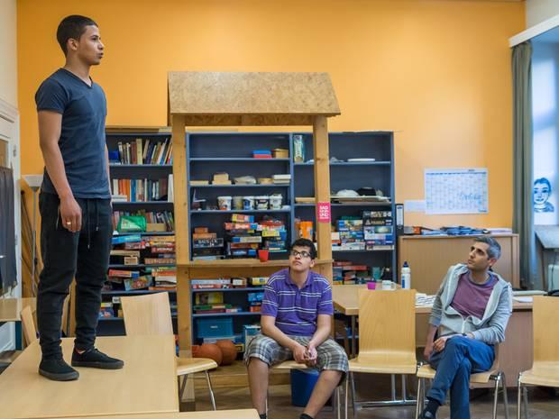 Beim Rhetoriktraining lernen Schüler, ihre Meinung mit Argumenten zu vertreten