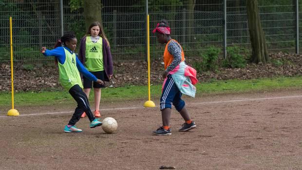 Sport ist ein wichtiger Bestandteil des Programms