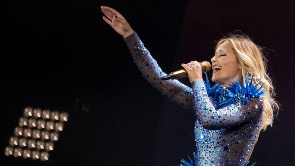 Helene Fischer singt
