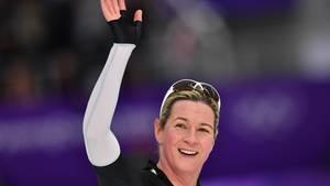 Claudia Pechstein trägt die deutschen Medaillenhoffnungen am Freitag