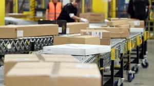 Pakete bei Amazon