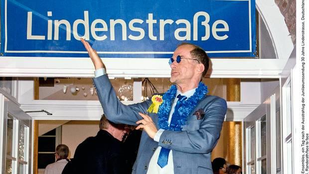 """Seit 1985 läuft die """"Lindenstraße"""", Georg Uecker ist seit Folge sechs dabei"""