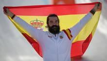 Medaillengewinner Regino Hernandez