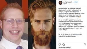 Screenshot aus dem Instagram-Profil von Gwilym Pugh.
